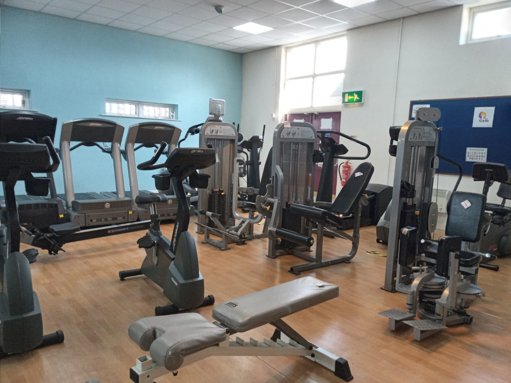 Photo of gym equipment, inside of Her Gym